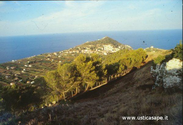 Panorama visto dalla montagna