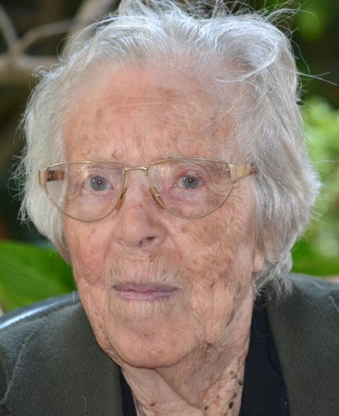 Maria Bertucci Giordano 102 anni