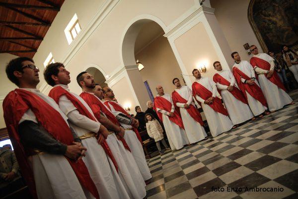 Apostoli in chiesa