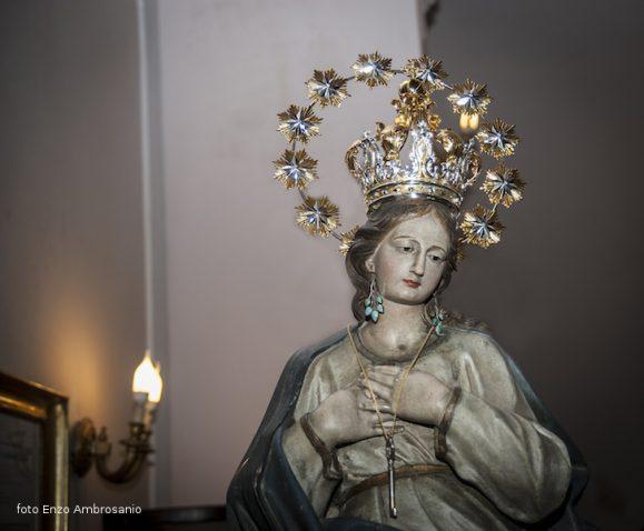 Vergina Maria con Corona e Stellario