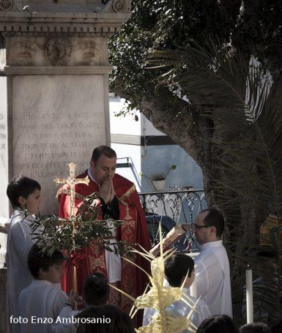 Cerimonia di Benedizione Palme  Mattina