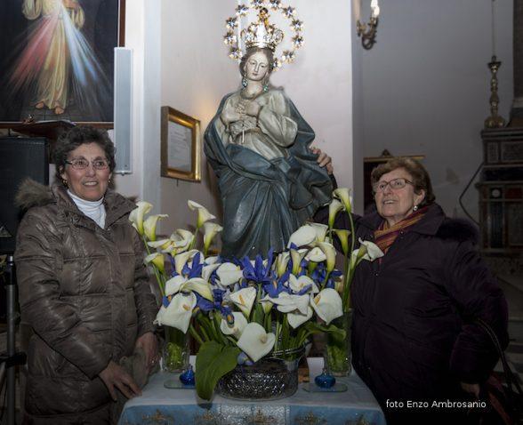 Vergina Maria con Fedeli