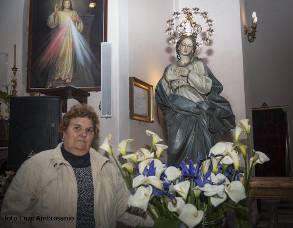 Vergina Maria con Corona e Signora Caminita