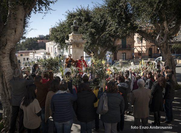 Cerimonia di Benedizione Palme  Mattina3