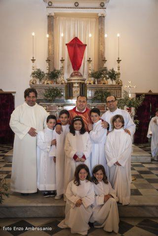 Celebrazione in chiesa domenica delle Palme Mattina3