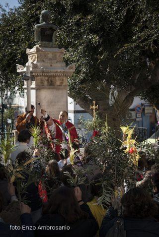 Cerimonia di Benedizione Palme  Mattina2