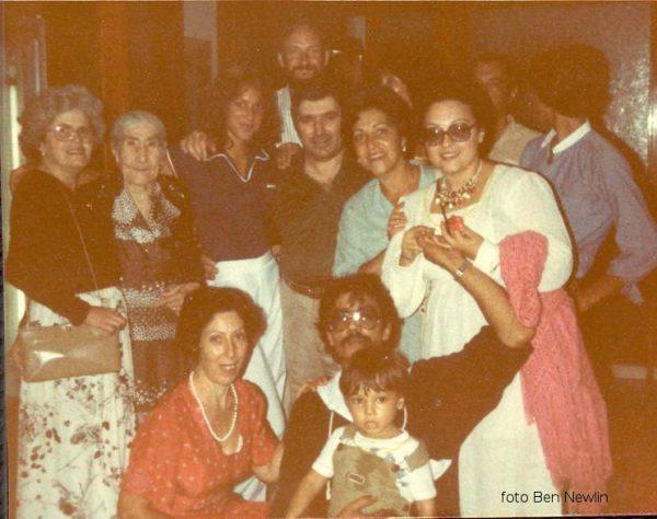 Italo americani in visita ad Ustica 1979