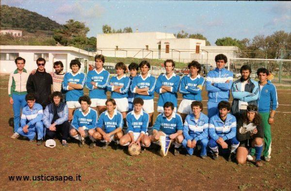Squadra di cancio A.S. Stella Marina Ustica