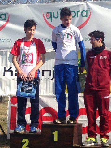 podio renda campionati nazionali uisp cross 15