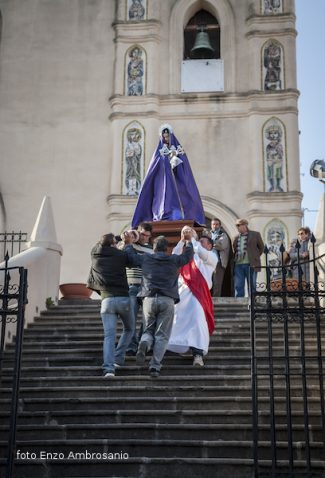 Madonna in processione al Calvario