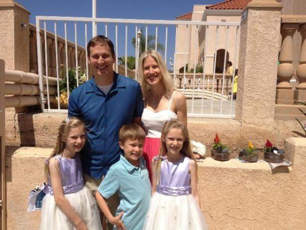 Famiglia Tom Robershaw