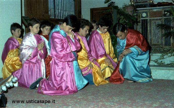 Momento di raccoglimento in preghiera