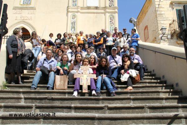 Foto ricordo, donne dell'Azione Cattolica