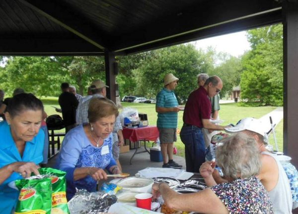 Ustica Picnic - New Orleans in San Bartolomeo Society, Descendants of Ustica, Italy.