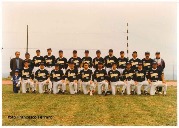 """Ustica, Promozione Baseball, A"""" - 1996"""