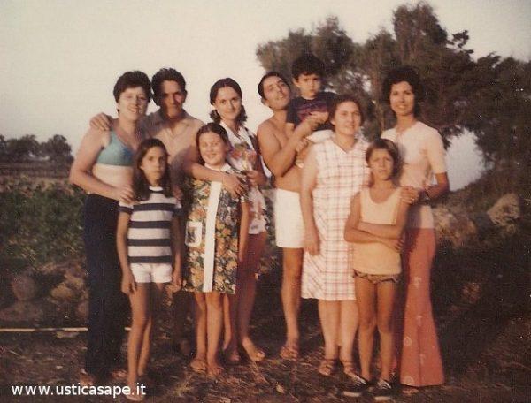 Italo Americani visitano la famiglia Pietro Tranchina