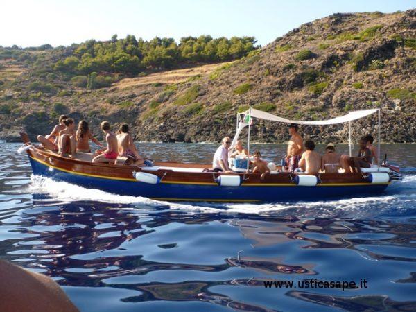 Giro in barca con Ninarello