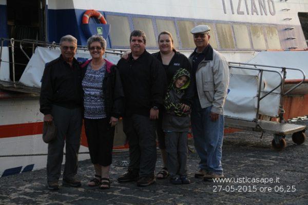 partenza, Ustica, Pittari