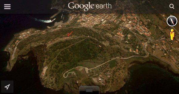 Google Cratere Ustica