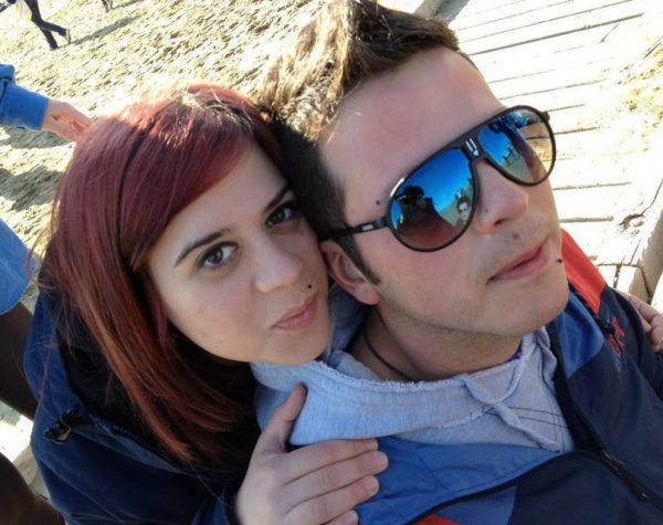 Antea Bertacci e Andrea Fiorini, in una foto presa dal web