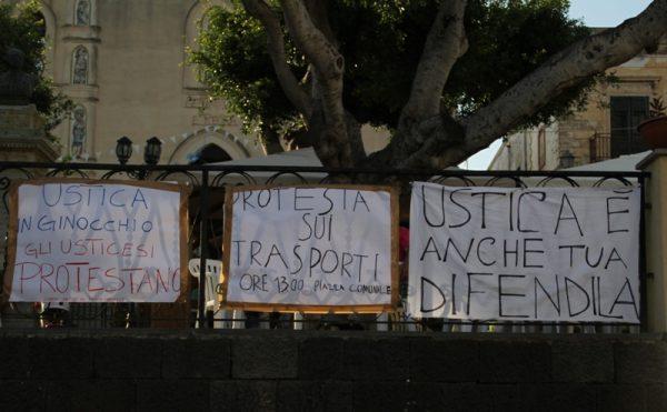 Protesta trasporti