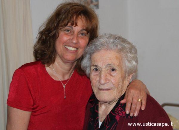 Mimma con nonna Risina