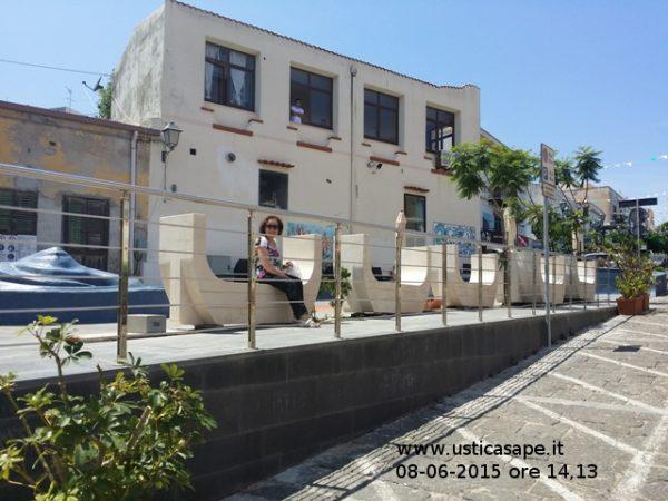 Piazza mare Blu - avanzamento Lavori