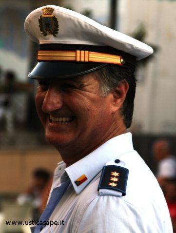 Comandante della Polizia municipale sempre vigile nell'allegria