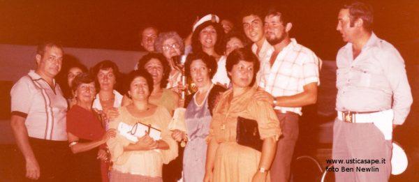 Rosa Bertucci Newlin 1979 eletta donna di Ustica