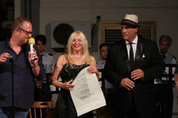 Teresa Nicoletti e Robert Davi