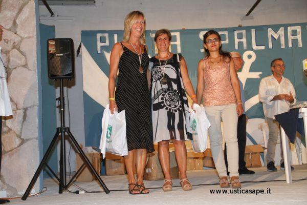 Premiazione vincitori 4° Giro podistico Isola di Ustica 25 luglio