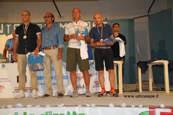 Premiazione vincitori 4° Giro podistico Isola di Ustica