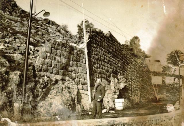 Inizio costruzione delle terrazze