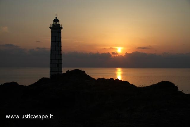 tramonto al Faro