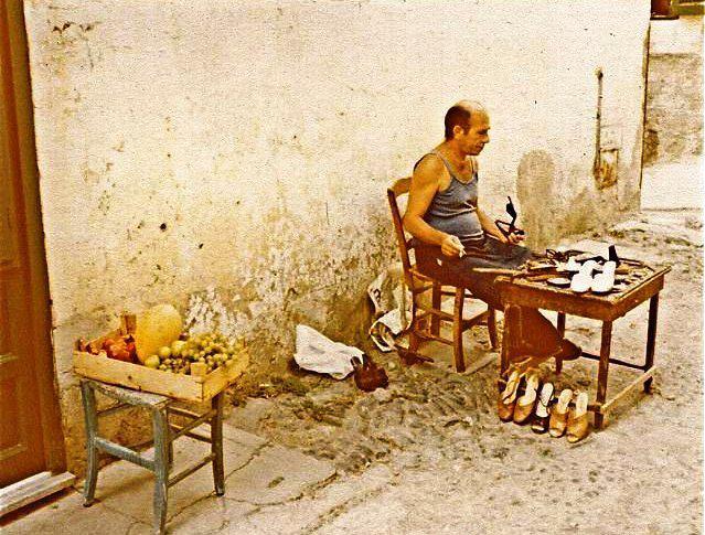calzolaio , Ustica
