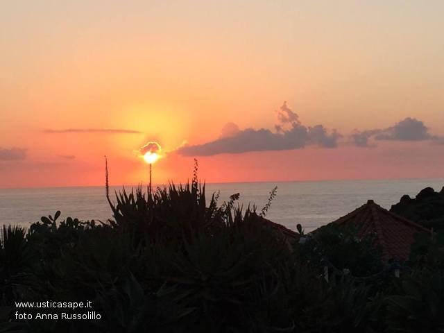 tramonto di fuoco