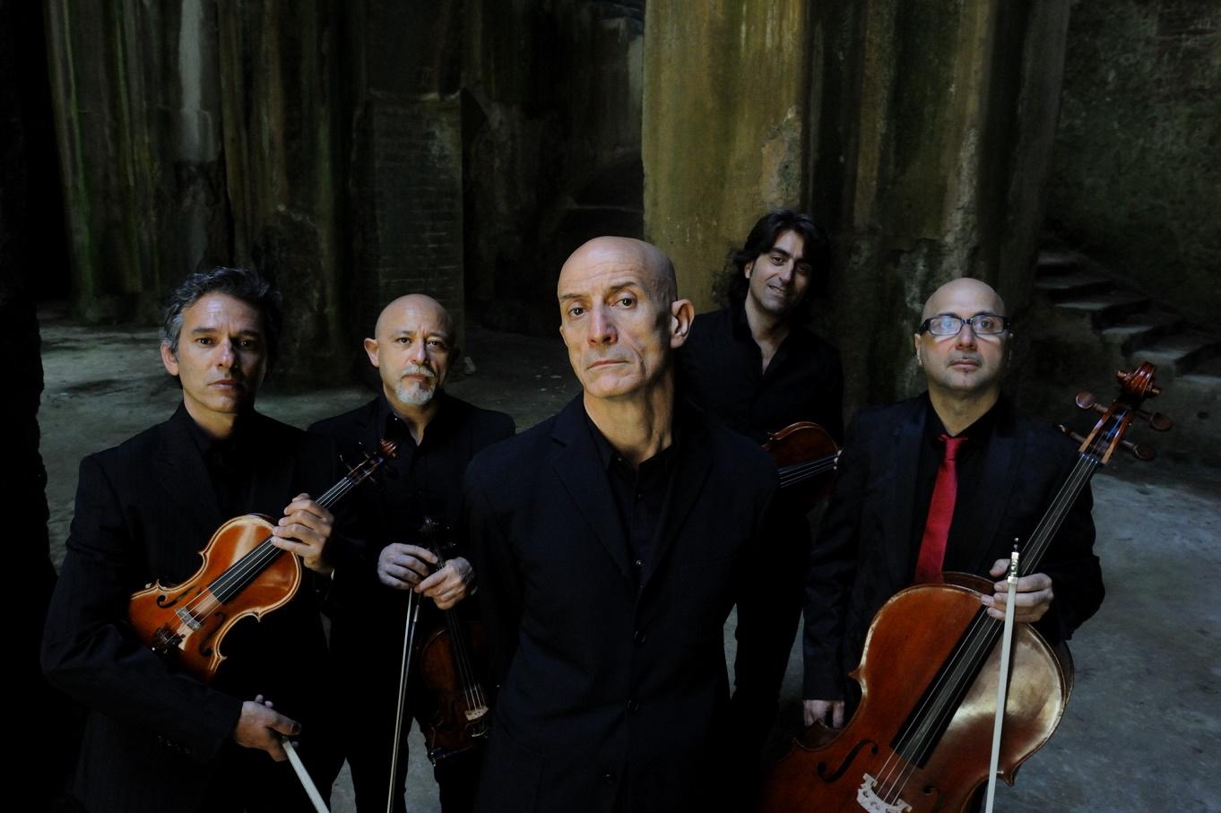 Peppe Servillo e il Solis String quartet