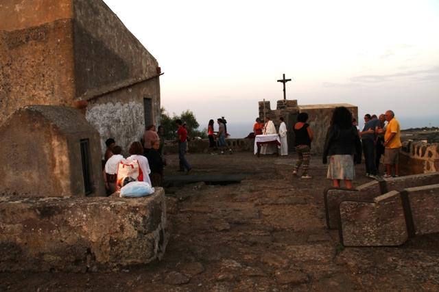 Santa Rosalia - Messa alla Falconiera