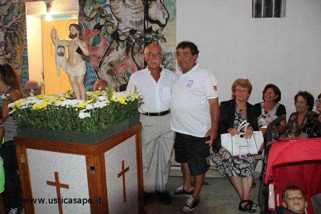Foto di ringraziamento con San Bartolicchio