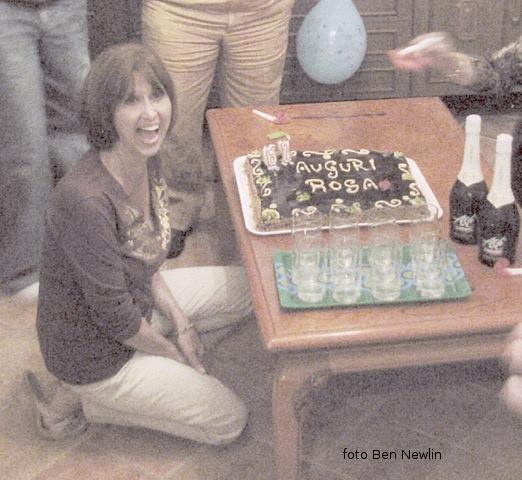 Rosa Bertucci Newlin festeggia con sorpresa il suo compleanno ad Ustica