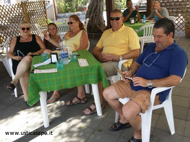 Tedeschi in visita ad Ustica