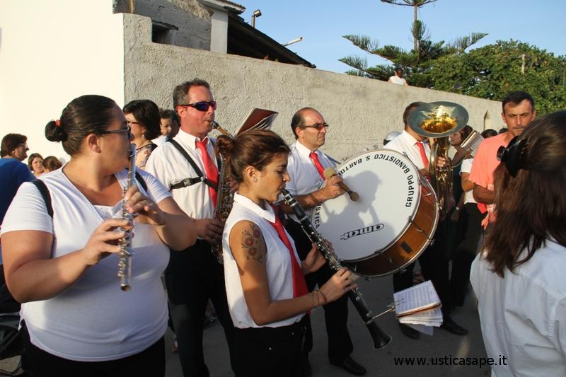 Componenti Banda Musicale Ustica