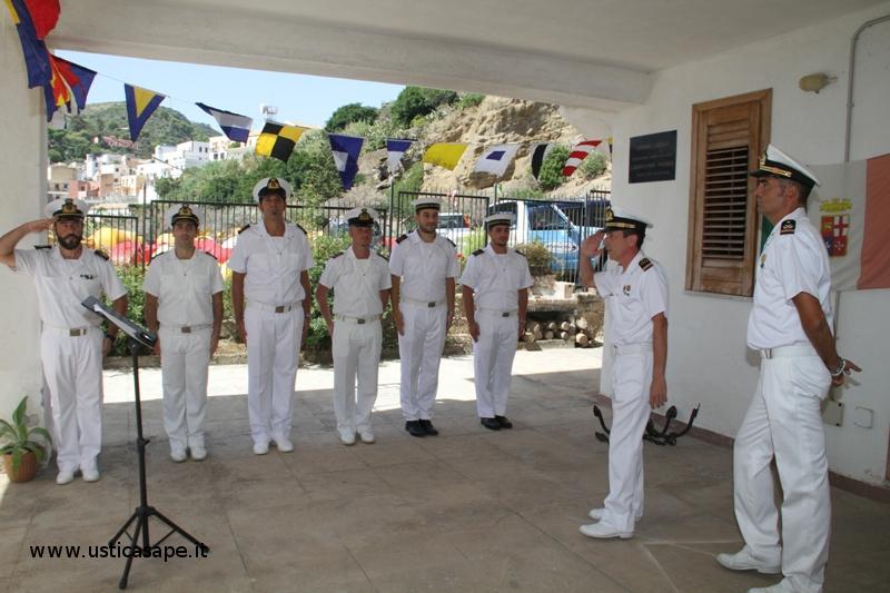 Cambio caomando Delegazione Spiaggia - C.P. Ustica