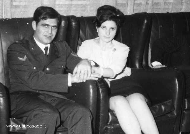 Pino e Wanda fidanzati - febbraio1968
