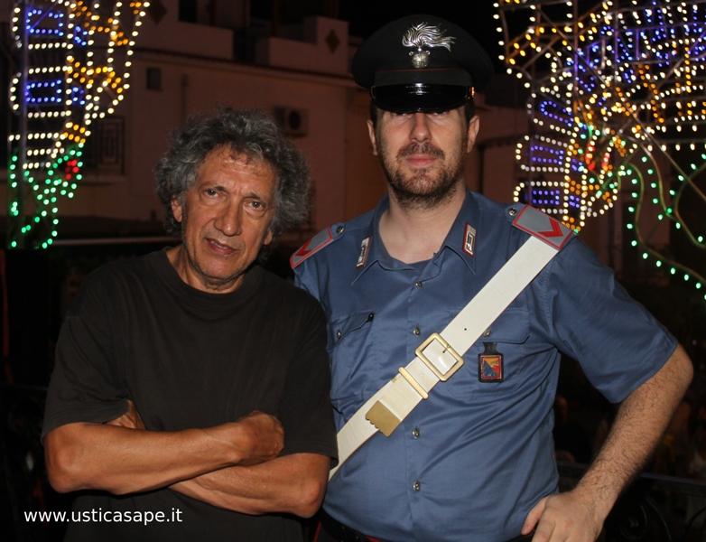 Una foto con Eugenio Bennato
