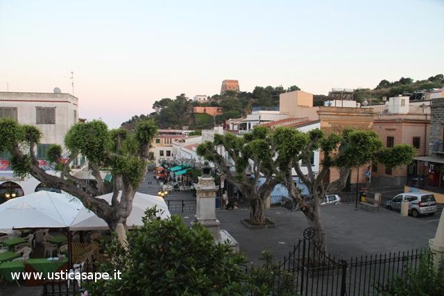 Piazza - potatura alberi