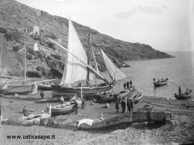 Ustica, antiche attività marinare