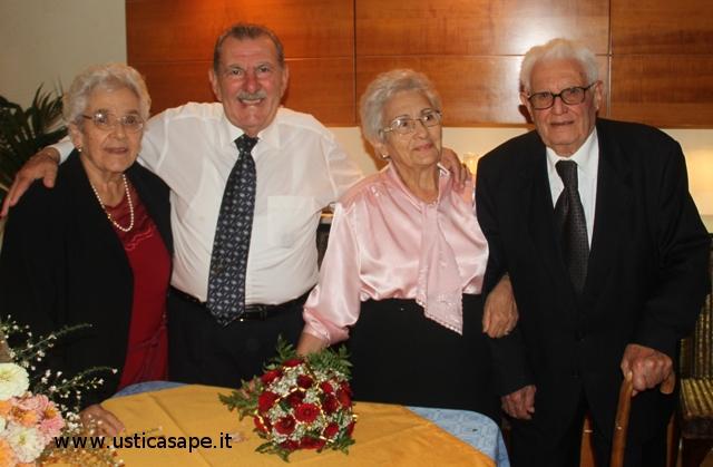 Angelo e Ina festeggiano 50 anni di matrimonio 16-10-2010