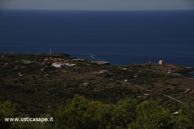 Villaggio, Faro e Torre dello Spalmatore