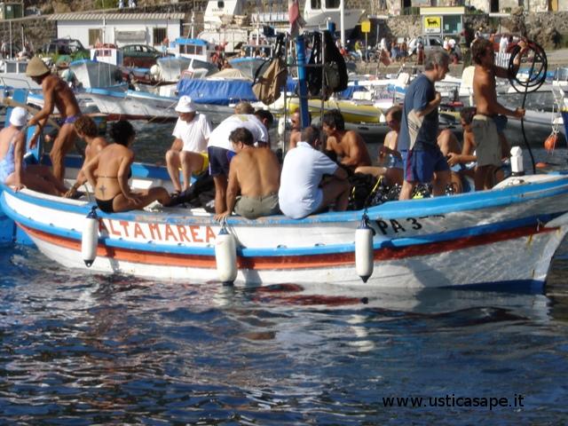 Altamarea diving in partenza per un nuovo sito di immersioni